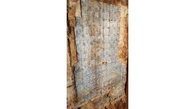 Original 17th century wall with Delft tiles discovered