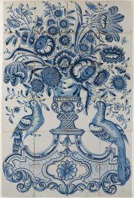 Flower vase, 18th century