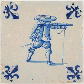 Musketeer, c. 1640