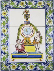 Pendulum clock, 19th century