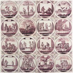 SET - Biblical, 18th century