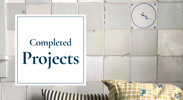 Projects with Delft tiles